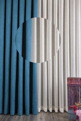 Modern, şık dekoratif tül (G-109)
